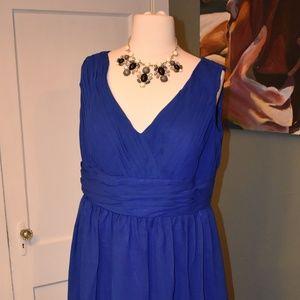 Cobalt Blue Gown
